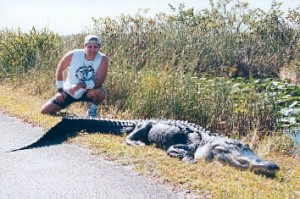 The Outdoors guy with a big Gator!