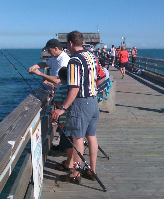 Tips for successful pier fishing the outdoors guy for Fishing piers in florida