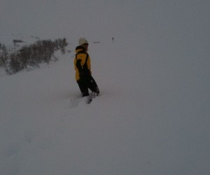Cyndi Cruz at Hatcher Pass