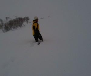 Cyndi Cruz at Hatcher Pass