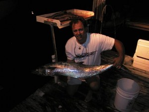 Noah Van Hochman with a Florida King Mackerel